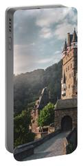 Sunrise At Castle Eltz, Germany Portable Battery Charger