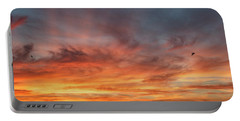 Sunrise At Cheyenne Bottoms 01 Portable Battery Charger by Rob Graham
