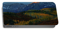 Portable Battery Charger featuring the photograph Sunrise At Dallas Divide During Autumn by Jetson Nguyen