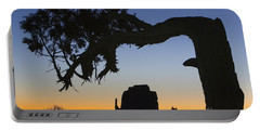 Portable Battery Charger featuring the photograph Sunrise At East Mitten by Jerry Fornarotto