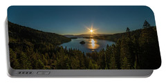 Sunrise At Emerald Bay Portable Battery Charger