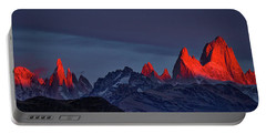 Sunrise At Fitz Roy #2 - Patagonia Portable Battery Charger