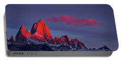 Sunrise At Fitz Roy #3 - Patagonia Portable Battery Charger