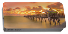 Sunrise At Juno Beach Portable Battery Charger