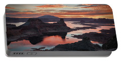 Sunrise At Lake Powell Portable Battery Charger