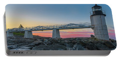 Sunrise At Marshall Point Portable Battery Charger