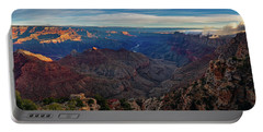 Portable Battery Charger featuring the photograph Sunrise At Navajo Point by John Hight