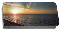 Sunrise At North  Myrtle Beach Portable Battery Charger