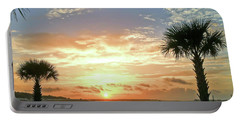 Portable Battery Charger featuring the photograph Sunrise At Ocean Isle by Kerri Farley