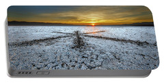 Sunrise At Soda Lake Portable Battery Charger