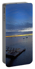 Sunrise At The Barnstable Yacht Club Portable Battery Charger