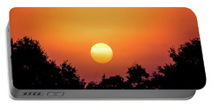 Portable Battery Charger featuring the photograph Sunrise Bliss by Shelby Young