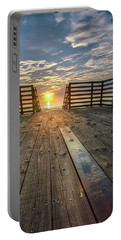 Sunrise Boardwalk Portable Battery Charger