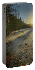 Sunrise Brings Hope For A New Day Portable Battery Charger by Rose-Marie Karlsen