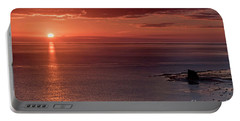 Sunrise Portable Battery Charger by David  Hollingworth