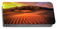 Sunrise-death Valley Portable Battery Charger