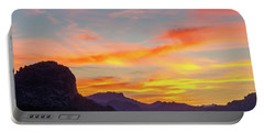 Sunrise From Hieroglyphic Trail Portable Battery Charger by Greg Nyquist