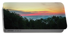 Sunrise From Maggie Valley August 16 2015 Portable Battery Charger