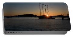 Sunrise In Bar Harbor Portable Battery Charger