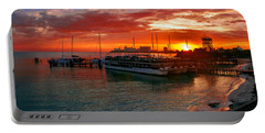 Sunrise In Cancun Portable Battery Charger