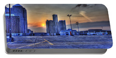 Sunrise In Detroit Mi Portable Battery Charger