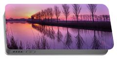 Sunrise In Holland Portable Battery Charger