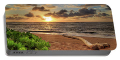 Portable Battery Charger featuring the photograph Sunrise In Kapaa by James Eddy