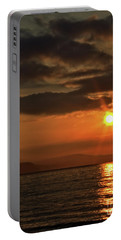 Portable Battery Charger featuring the photograph Sunrise In Portland by Baggieoldboy