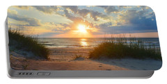 Sunrise In South Nags Head Portable Battery Charger