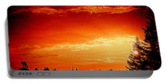Sunrise In Southport Maine Portable Battery Charger