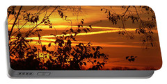 Portable Battery Charger featuring the photograph Sunrise In Tennessee by EricaMaxine  Price