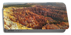 Sunrise In The Canyon Portable Battery Charger