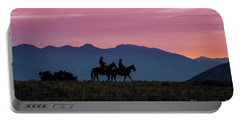 Sunrise In The Lost River Range Wild West Photography Art By Kay Portable Battery Charger