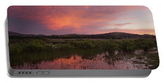 Sunrise In The Wichita Mountains Portable Battery Charger