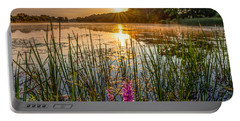 Sunrise Kent Lake Portable Battery Charger by Patrick Shupert