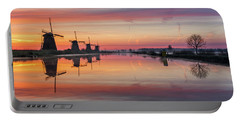 Sunrise Kinderdijk Portable Battery Charger