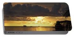 Sunrise Miami Beach Portable Battery Charger
