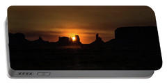 Sunrise Monument Valley Portable Battery Charger