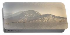 Sunrise Mountains Landscape Portable Battery Charger