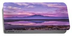 Sunrise On Antelope Island Portable Battery Charger by Kristal Kraft