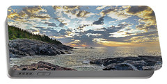 Sunrise On Christmas Cove Portable Battery Charger
