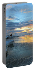 Sunrise On Ice Portable Battery Charger