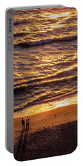 Sunrise On Melbourne Beach Portable Battery Charger