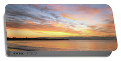 Sunrise On Middletown Rhode Island Portable Battery Charger by Roupen  Baker