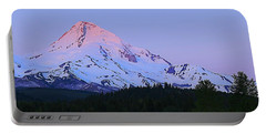 Sunrise On Mt. Hood Portable Battery Charger