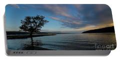 Sunrise On Seneca Lake Portable Battery Charger