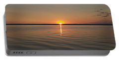 Sunrise On Seneca Lake Portable Battery Charger