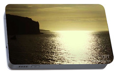 Portable Battery Charger featuring the photograph Sunrise On The Almalfi Coast by Polly Peacock