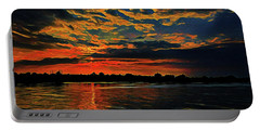 Sunrise On The Blue Danube Portable Battery Charger