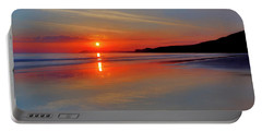 Portable Battery Charger featuring the photograph Sunrise On The Coast by Roy McPeak